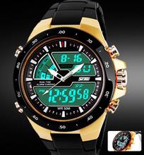 Voděodolné multifunkční pánské hodinky