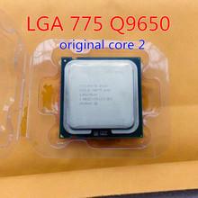 Quad Q9650 CPU works on LGA 775 socket  Core 2 Q9650 cpu (3.0GHz /12MB /FSB 1333 ) Beyond the xeon e5450 x5460 free gift sent