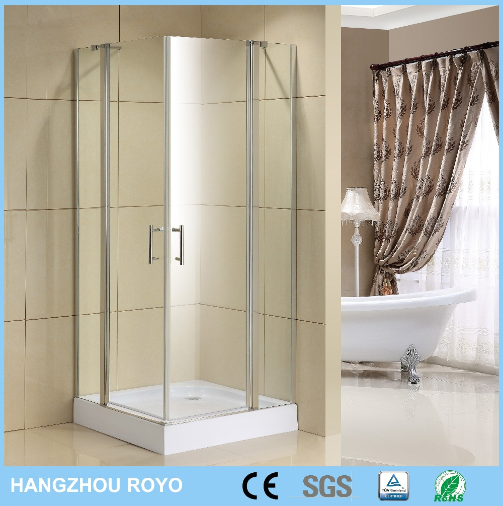 China Hot Sale 6mm Semi Frame Aluminum Profile Shower