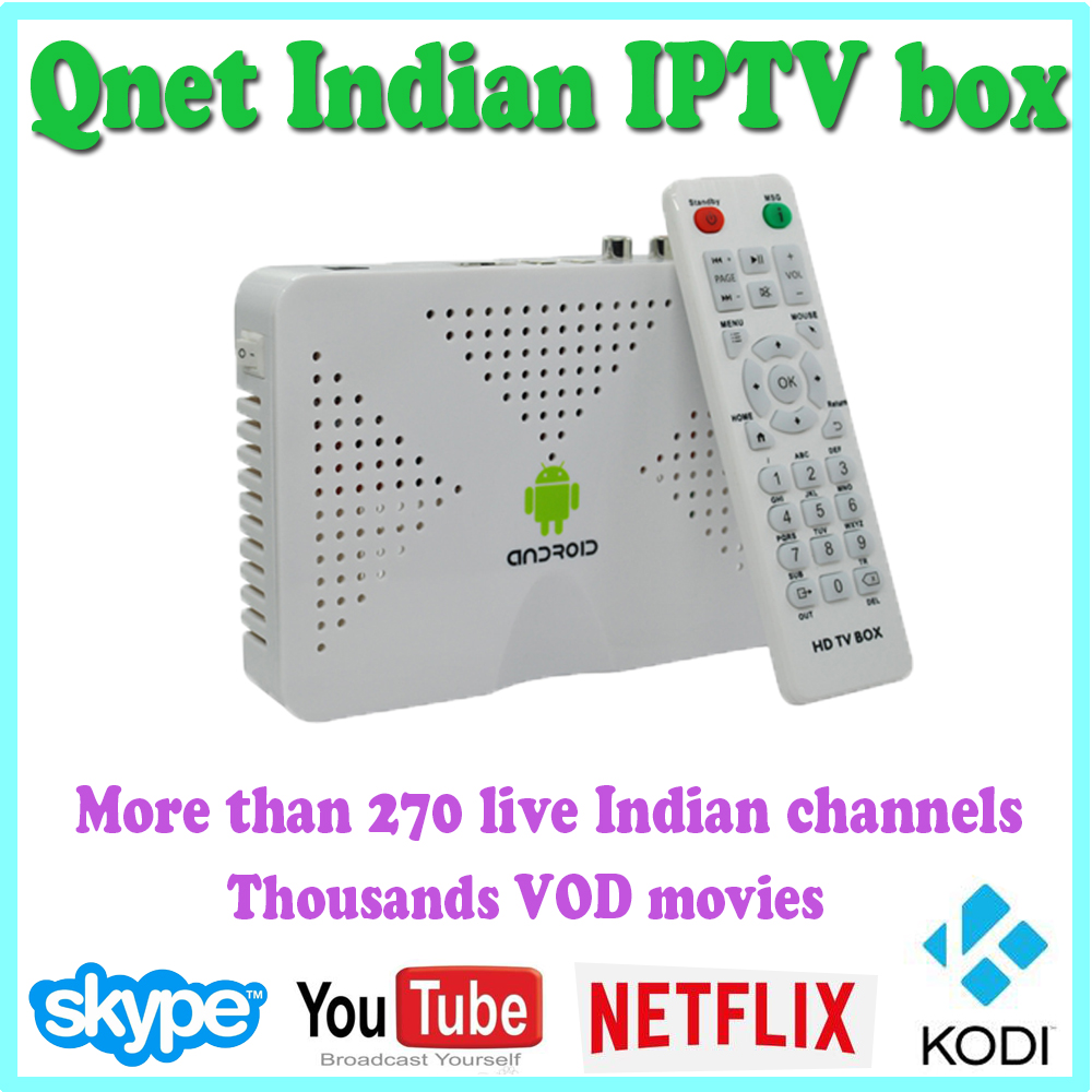 Best HD Indian IPTV Box Android TV Box support HD Indian TV Channels IPTV  Box Indian TV Receiver Free TV - drone4sky