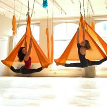 ** 5米全套空中反重力瑜伽吊床(鞦韆瑜伽)