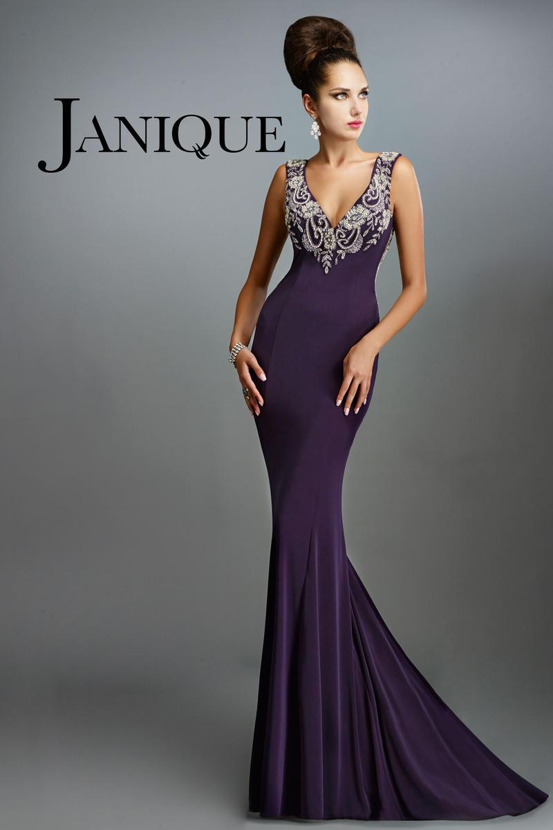 formalen elegante lange meerjungfrau janique abendkleider 2015 party abend. Black Bedroom Furniture Sets. Home Design Ideas
