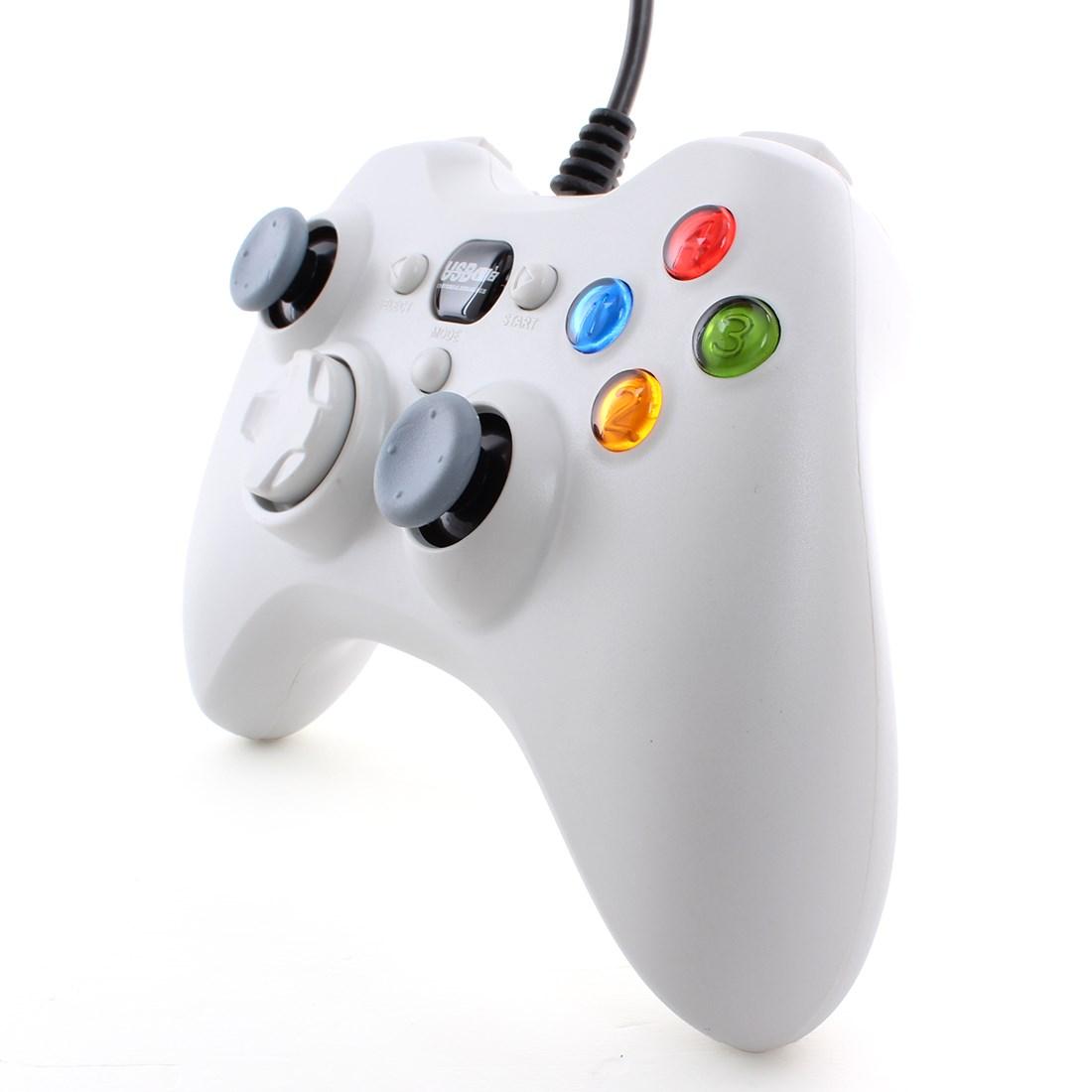 Полезная проводная USB игра контроллер джойстик геймпад для пк лэптоп компьютер