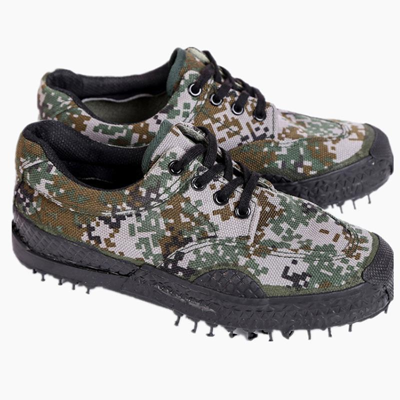Woodland Digital Camouflage Travel Jogging Shoes