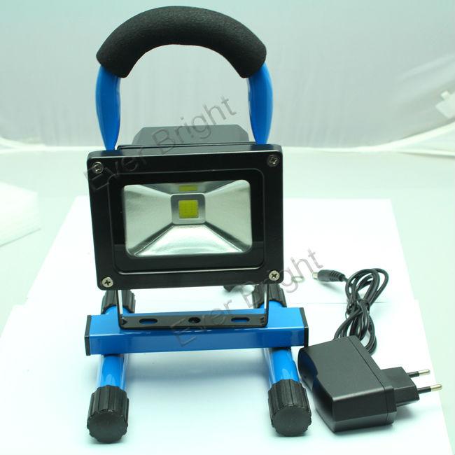 Portable Led Flashlight Garage Lights Emergency Work Light: 5pcs DHL Fedex 5W LED FLoodlight Portable Rechargeable LED