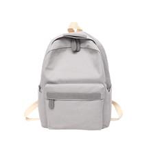 2516e708a5afa 2019 Kadın Tuval Sırt Çantaları Bayanlar Omuz okul çantası Sırt Çantası  Sırt Çantası Kız Seyahat Moda Çanta Bolsas Mochilas için.