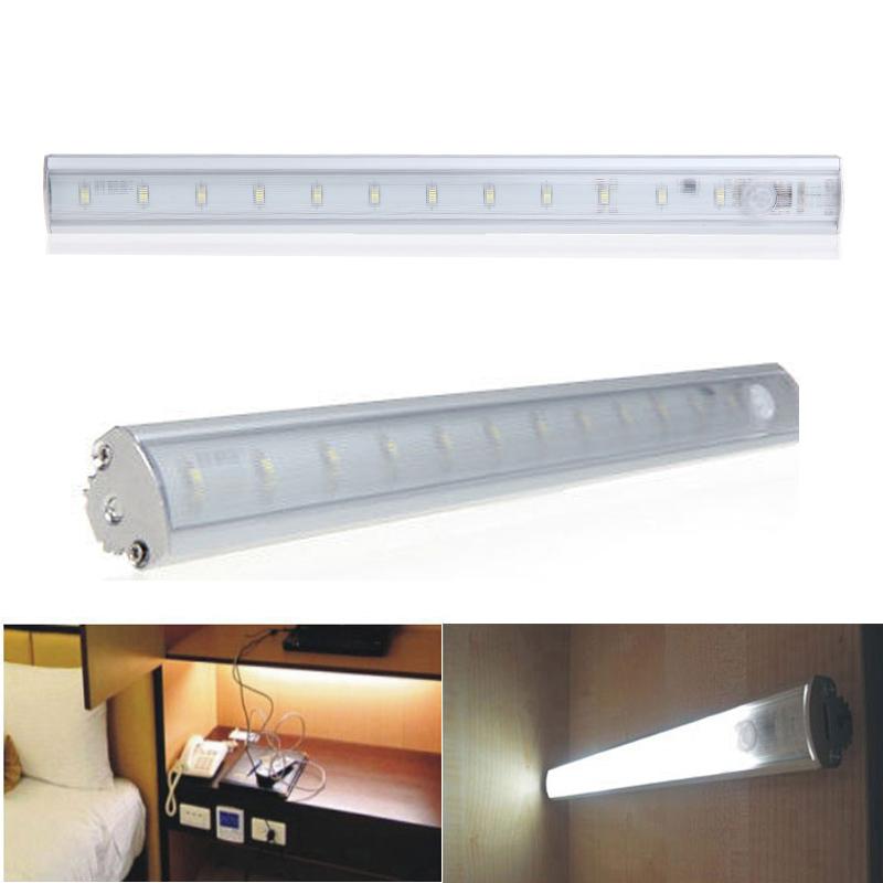 Casalife Led Cabinet Sensor Light: Hot Sale 3528SMD PIR Motion Sensor LED Bar Light LED Under