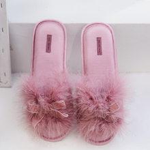 GKTINOO удобные женские домашние тапочки, женские тапочки с открытым носком, теплые женские домашние тапочки, 2019(Китай)