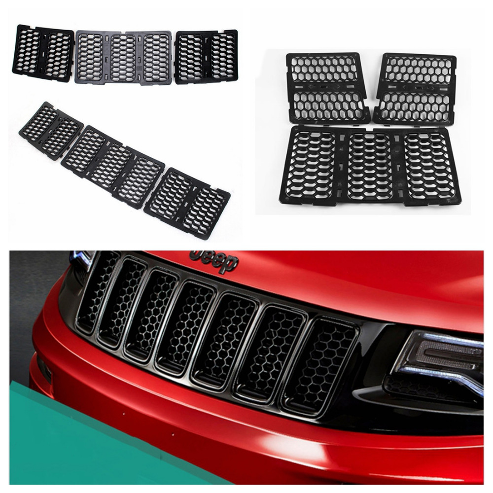 2015 grand cherokee grill inserts autos post. Black Bedroom Furniture Sets. Home Design Ideas