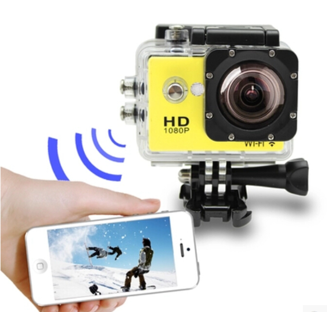 Original SJCAM SJ4000 WiFi HD Sport Action Camera 1080P Diving 30M Waterproof Sport Camera Full HD Car DVRs Gopro Camera Style