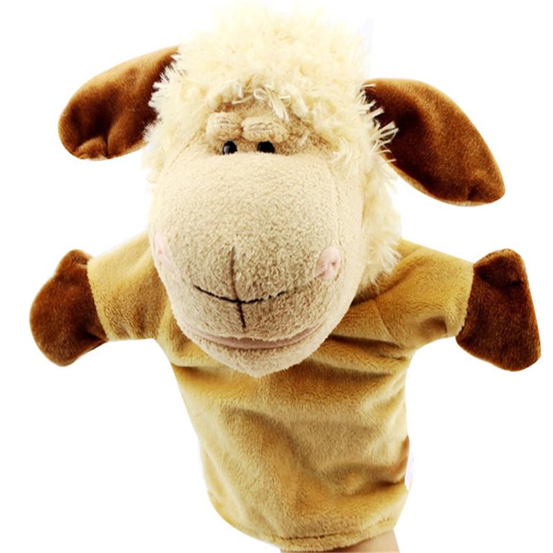 Игрушки для маленьких мальчиков и девочек, Мультяшные животные, животный принт, ручная перчатка, кукольные плюшевые куклы, детские ролевые ...(Китай)