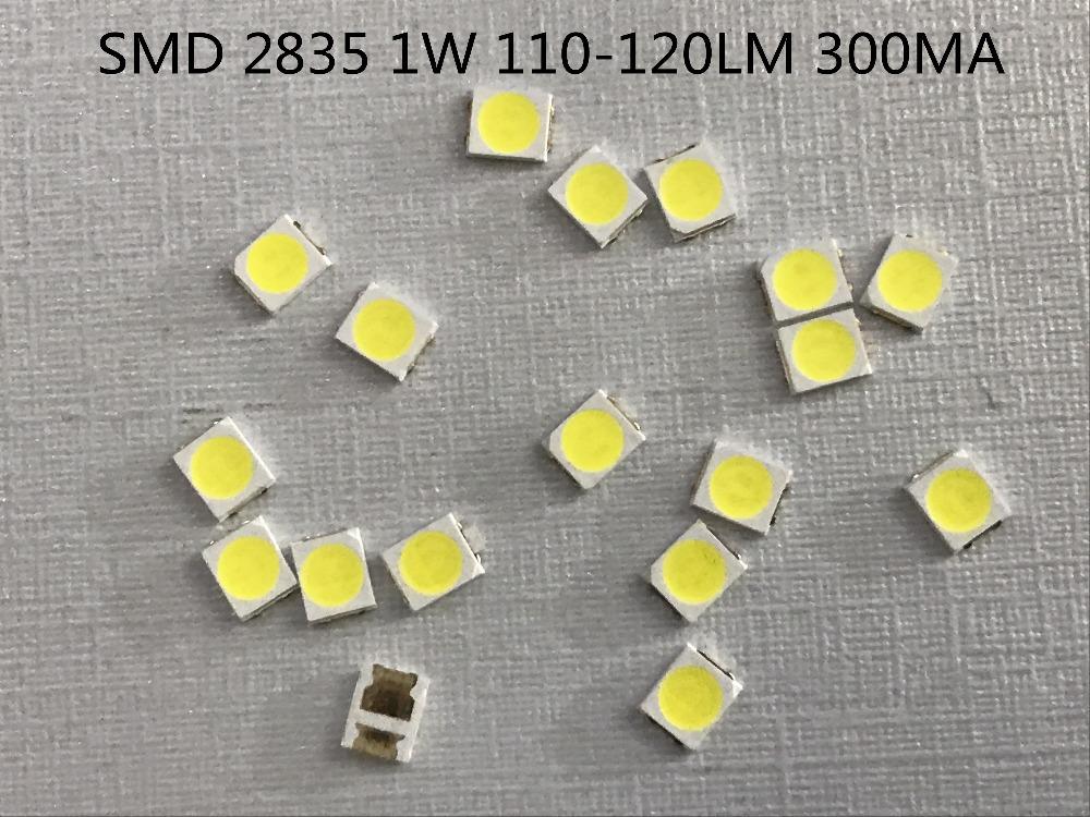 Smd Led 2835 Chip 1w 3v 300ma White Warm 110 120lm Ultra