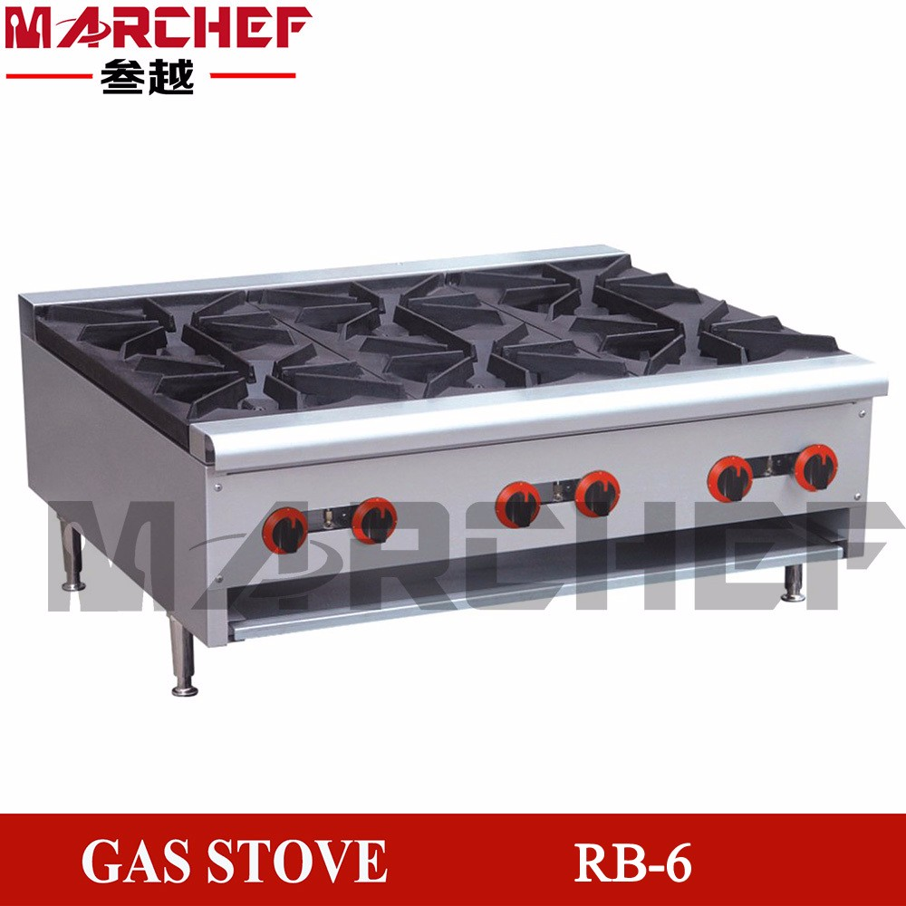Hot Sale Industrial Cooking Range Free Standing Gas Stove