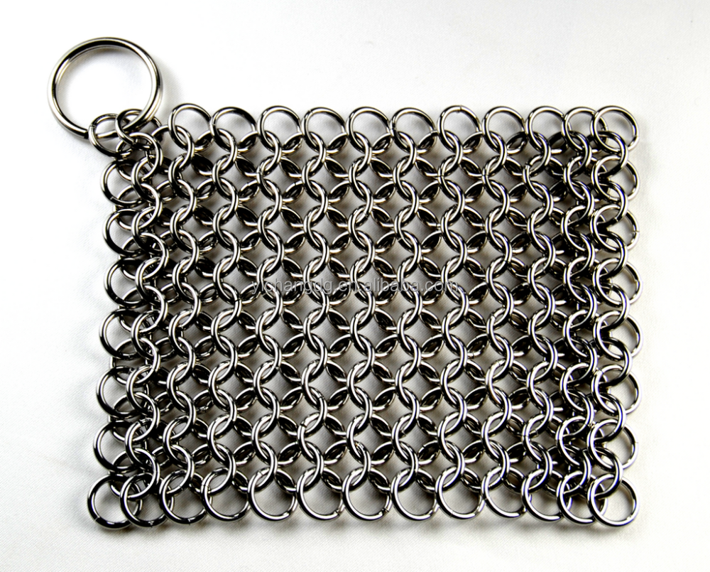 H Iron Manufacturers Mail: Cast Iron Cleaner Stainless Steel Chainmail Manufacturer