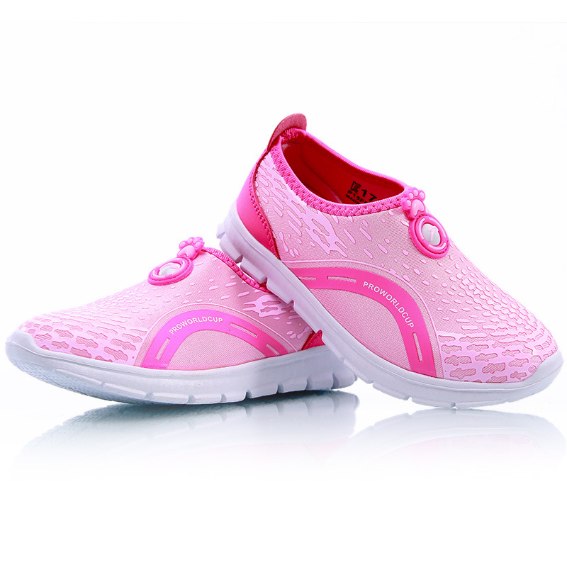 2016 New Arrive White Boys And Girls Sports Soft Sneakers 4-15 Years Old Size 24-37,spring And Summer Kids Shoes For Boys