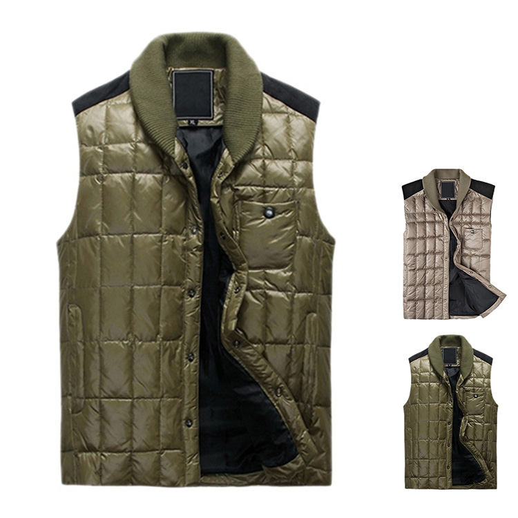 Hot Sale Winter Down Vest Men Brand Fashion Men's ...