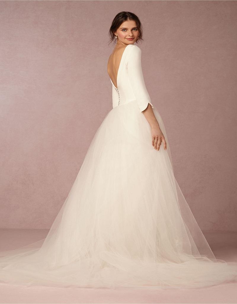 Simple Vintage Wedding Dress 95