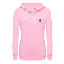 FanShou Free Shipping Sudaderas Mujer 2015 Women Hoody Autumn Winter Harajuku Sportwear Women Sweatshirt Hoodies