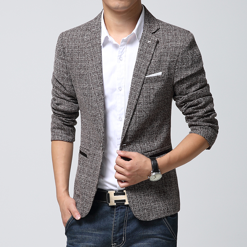 Men's blazers For men, a blazer is one of the most versatile jackets you can own - whether in a classic navy blue, statement black, sophisticated cream or grey shades for a more casual look. Products.
