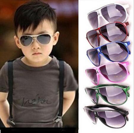 9cd045695a Retail New Fashion Child Cool Sun Glasses Children Boys Girls Kids Plastic  Frame Aviator Sunglasses Goggles Eyeglasses