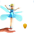 RC Helicopter Kids Baby toys Elsa Princess toys flying Induction flyer Helicoptero Action figure Kid s