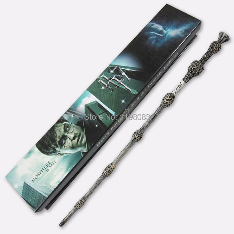 Harry Potter wand Magic Albus Dumbledore wand with box