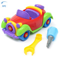 XFC Kids Baby DIY Cartoon Cute Disassembly Assembly Classic Car Toys Gift
