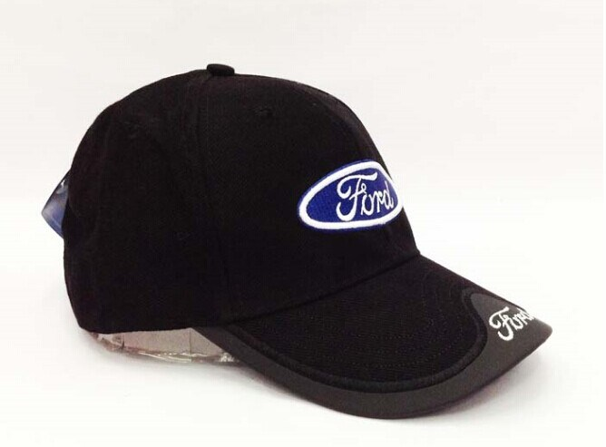 Hot Sale 2015 New Fashion Ford Racing Cap Embroidery Solid