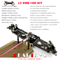 LC RACING 1 14 Off Road 4WD RC Car Buggy Chassis KIT Unassembled EMB 1HK