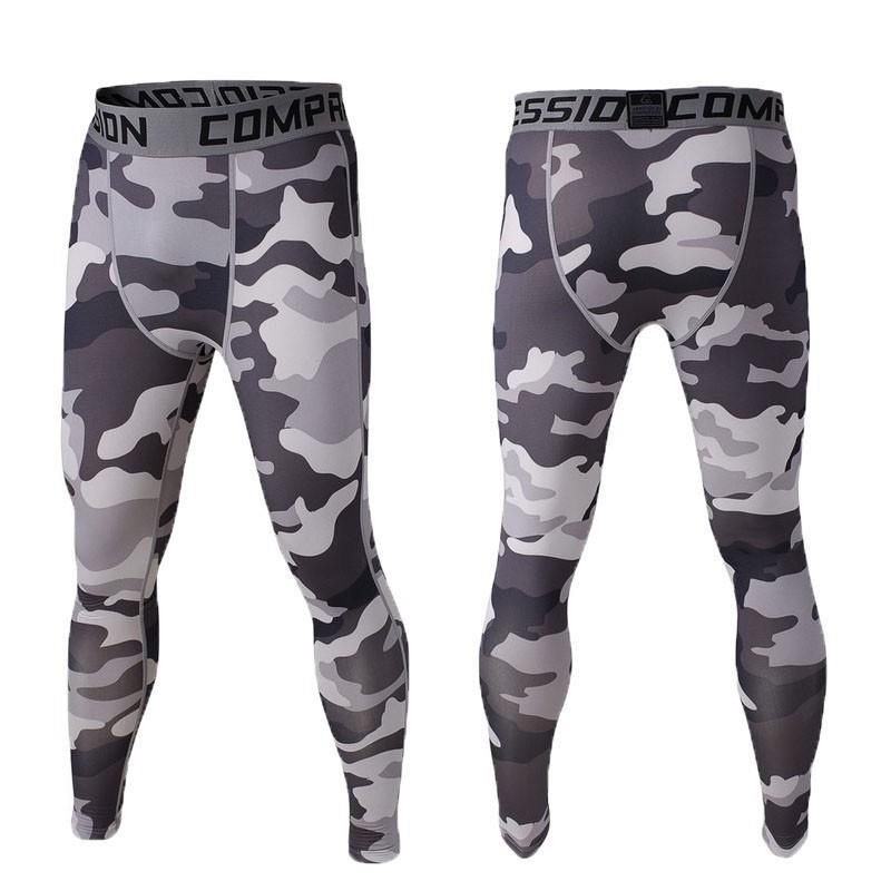 f679419773d72 2019 Wholesale Sports Running Pants Men Jogging Camo Graffiti ...