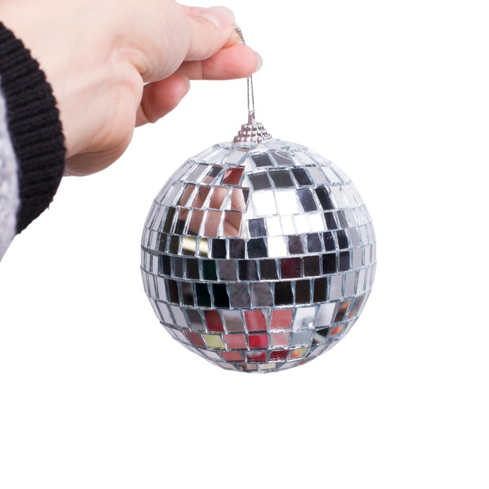 2016New 1pc Christmas Decor Balls Bar Mirror Balls