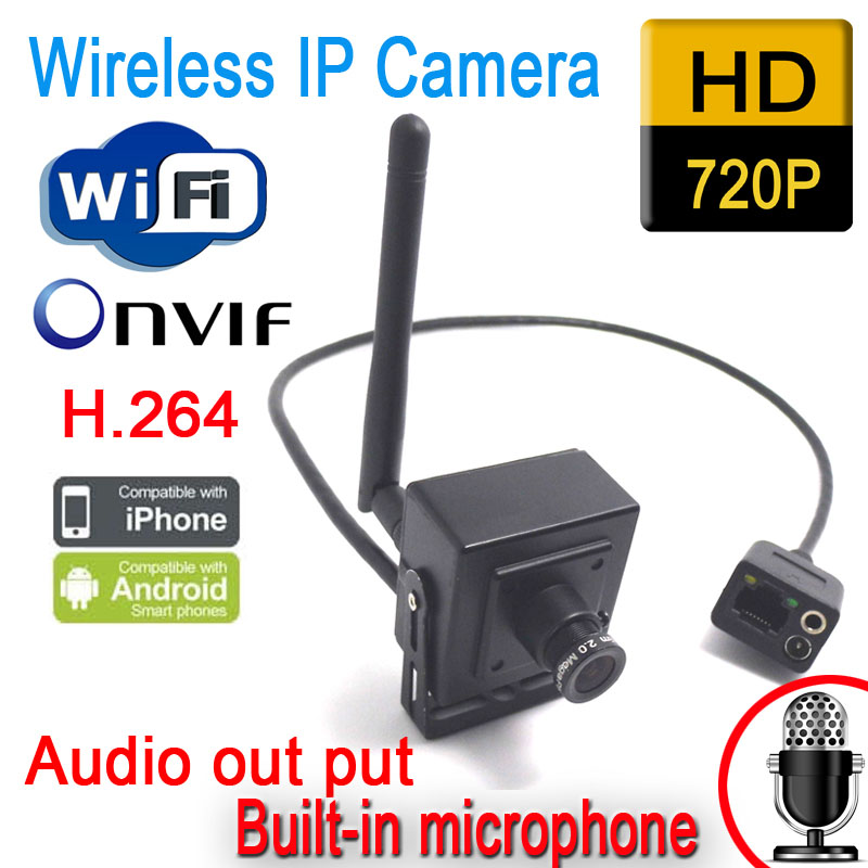 buy cctv mini ip camera wifi surveillance system wireless home security 720p. Black Bedroom Furniture Sets. Home Design Ideas