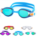 Waterproof Anti Fog UV Adults Professional Colored Lenses Diving Swimming Glasses Eyewear Swim goggles