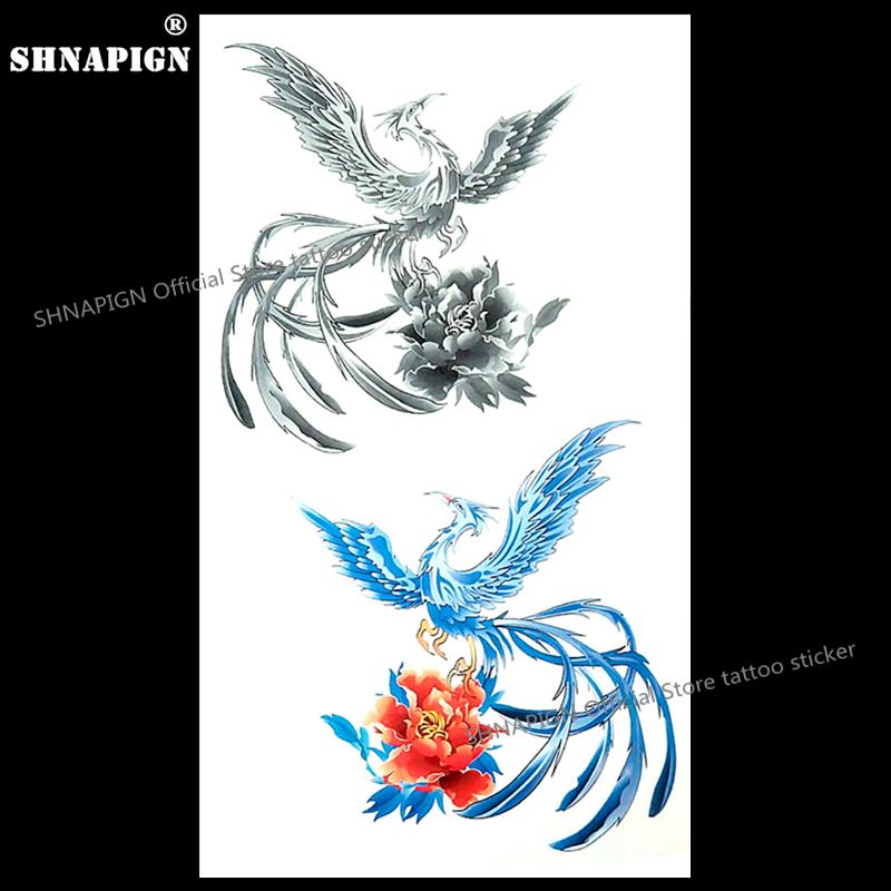 phoenix tatouage promotion achetez des phoenix tatouage promotionnels sur. Black Bedroom Furniture Sets. Home Design Ideas