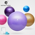 HATHA 65cm Professional swiss yoga ball balancing bola de pilates fitness gym home excise with pump
