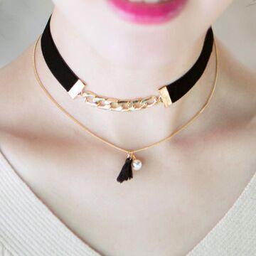 2016 новый урожай стимпанк колье ожерелье mujer имитация-жемчужное ожерелье макси nakelace бижутерии роковой XL1615