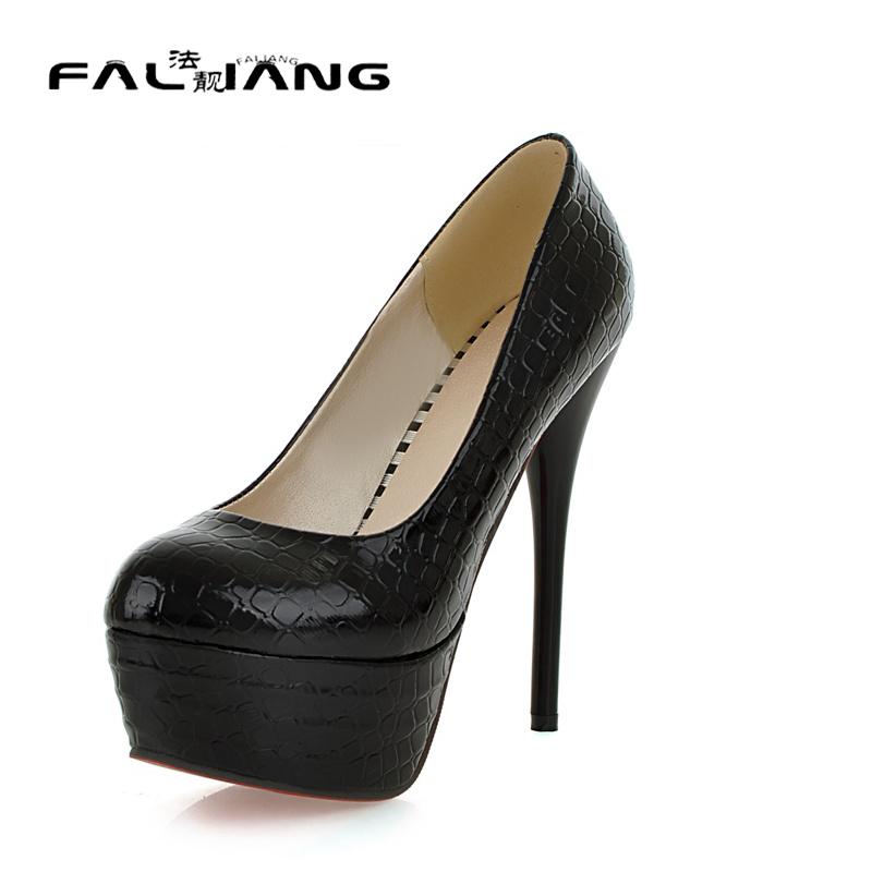 Popular High Heels Platform Shoes Size 12-Buy Cheap High ...