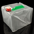 10L Collapsible Camp Hiking Climbing Water Storage Carrier Container