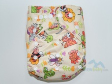 PUL Reusable Cloth Diapers Wholesale Fabric Baby Cloth Diapers Nappies FT60