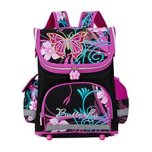 High quality 15models font b Children b font School Bags Butterfly Boys School Backpack Girls Orthopedic