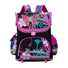 High quality 15models Children School Bags Butterfly Boys School Backpack Girls Orthopedic Waterproof Schoolbag Mochila Infantil