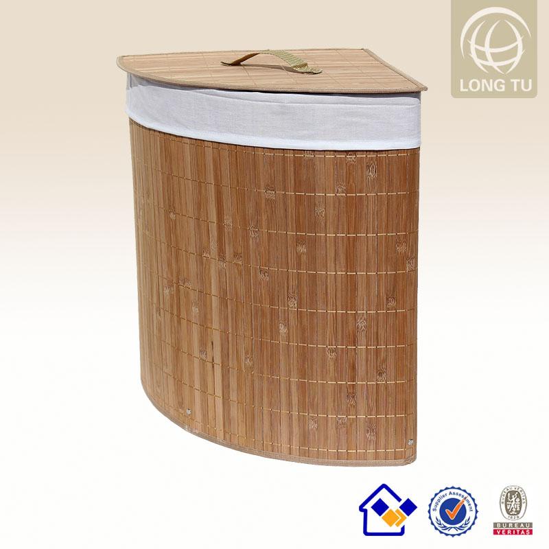 panier linge en bambou de stockage panier coin taille personnalis e sac panier linge id du. Black Bedroom Furniture Sets. Home Design Ideas