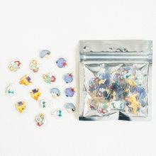 Милые наклейки, прозрачные наклейки, канцелярские товары, Корейская мультяшная Рождественская наклейка, милый стикер-новинка, классическо...(Китай)