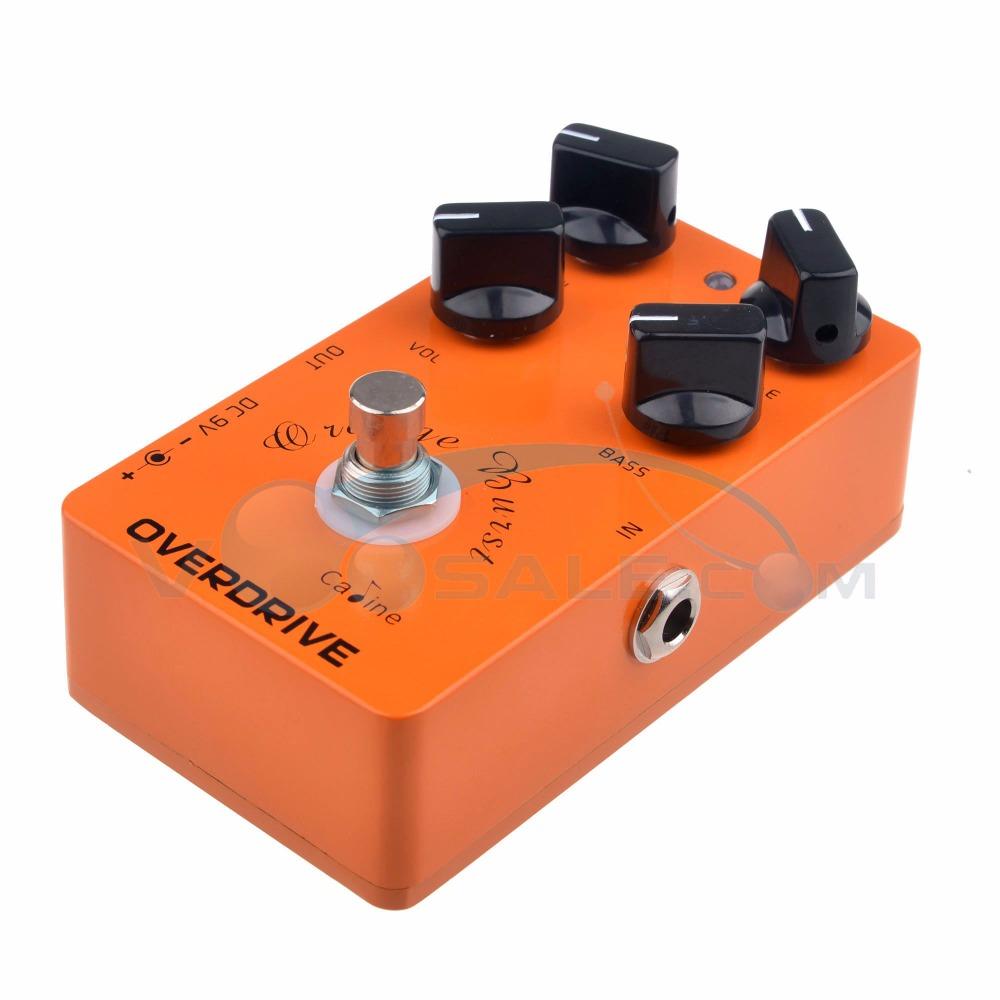 buy cp 18 od guitar pedals overdrive guitar effect pedal orange true bypass. Black Bedroom Furniture Sets. Home Design Ideas