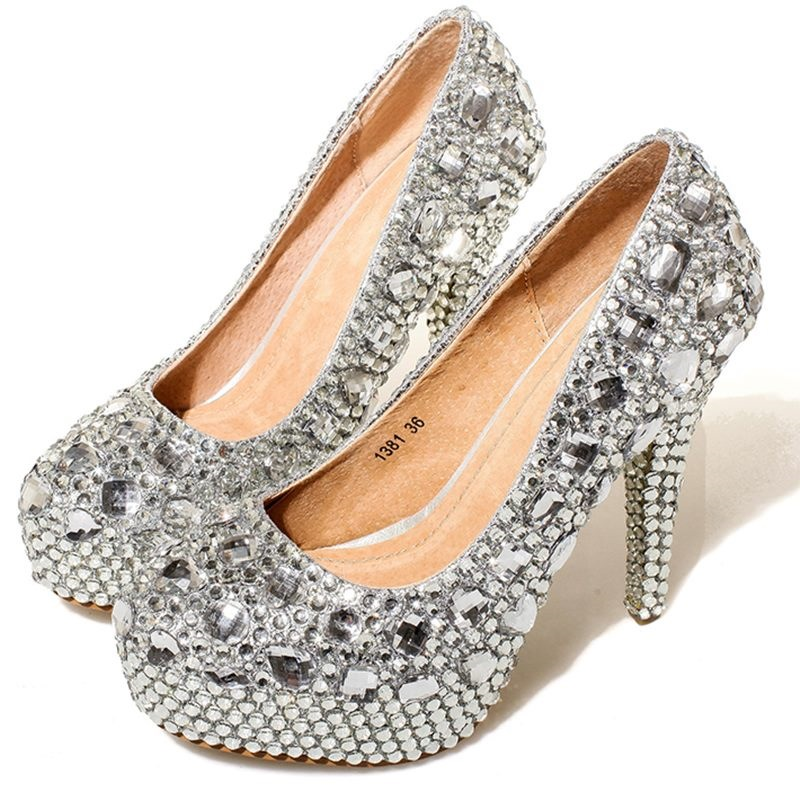Compare Prices On Cute Silver High Heels- Online Shopping