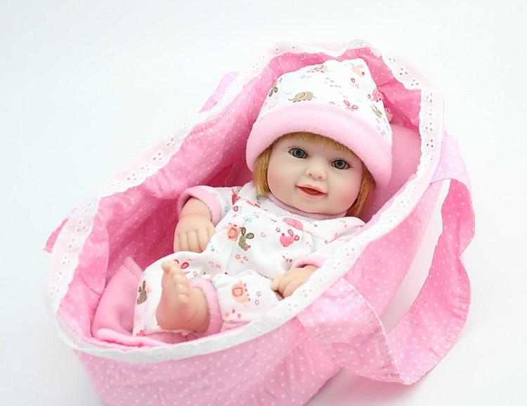 Reborn baby dolls for sale cheap full vinyl realistic baby ...