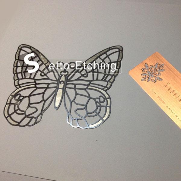 Kustom baja etsa kerajinan kupu-kupu grosir, membeli, produsen