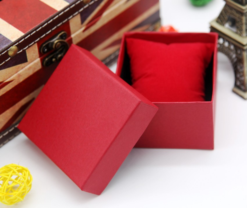 Часы коробка чехол для браслет ювелирные изделия кольцо серьги до запястья часы присутствует подарок коробки