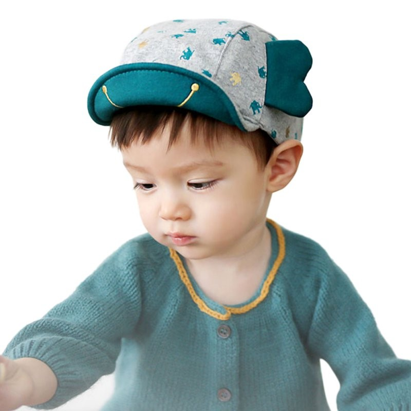 Cute Kids Toddler Caps Elephant Ear Style Infant Boy Baby Girl Hat Peaked  Baseball Hats Cap 3a3b3d43c79b