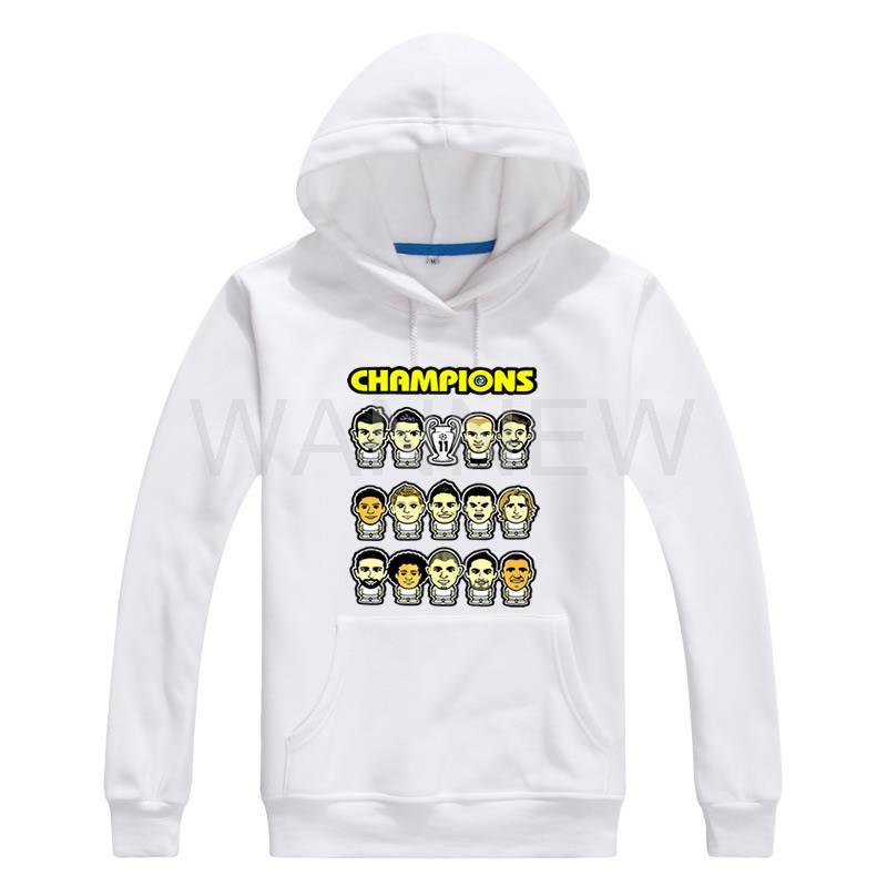 Compra football sweatshirt real madrid online al por mayor
